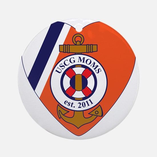 BOnnie 6-Logo Round Ornament