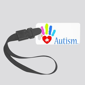 stop autism 2 Small Luggage Tag