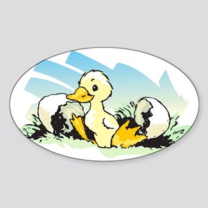 duckhardedges Sticker (Oval)