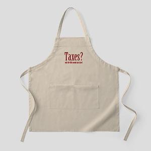 Tax Humor BBQ Apron