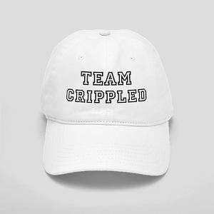 CRIPPLED is my lucky charm Cap