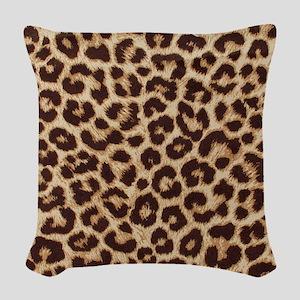Leopardpillow Woven Throw Pillow