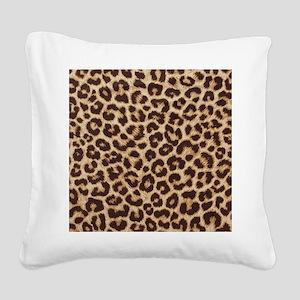 Leopardpillow Square Canvas Pillow