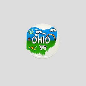 Ohio Mini Button
