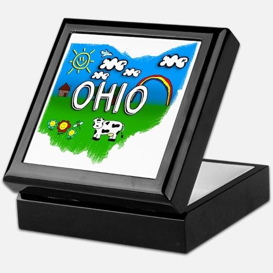 Ohio Keepsake Box