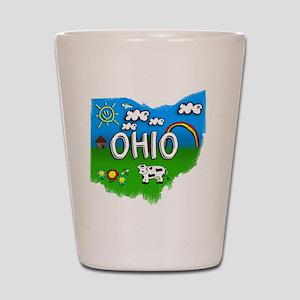 Ohio Shot Glass