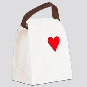 iheartemus_black Canvas Lunch Bag