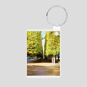 Tree line Aluminum Photo Keychain