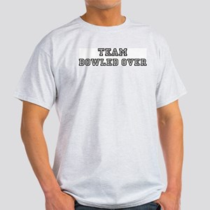 Team BOWLED OVER Light T-Shirt