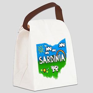 Sardinia Canvas Lunch Bag