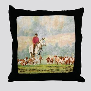 fhMP Throw Pillow