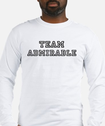Team ADMIRABLE Long Sleeve T-Shirt