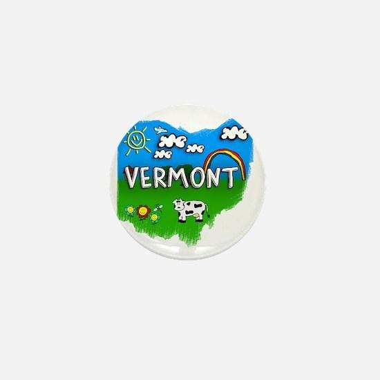 Vermont Mini Button