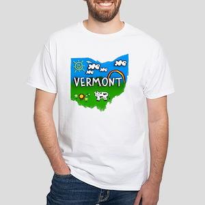 Vermont White T-Shirt