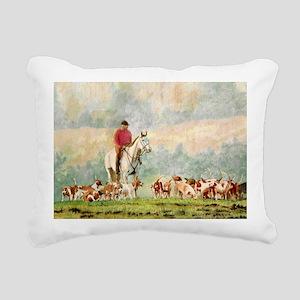 fhnote Rectangular Canvas Pillow