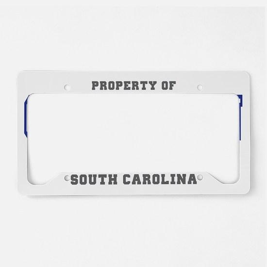 PropertyOfSouthCarolina-Charl License Plate Holder