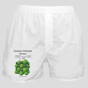 sodium chloride mug Boxer Shorts