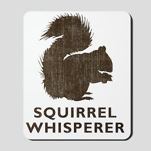 squirrelwhisperer1 Mousepad