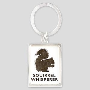 squirrelwhisperer1 Portrait Keychain