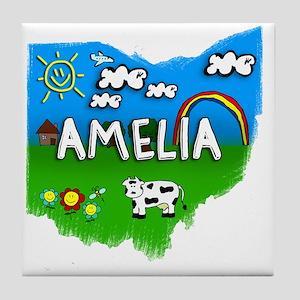 Amelia Tile Coaster