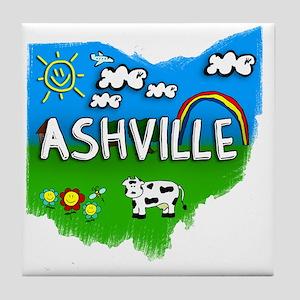 Ashville Tile Coaster