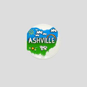 Ashville Mini Button