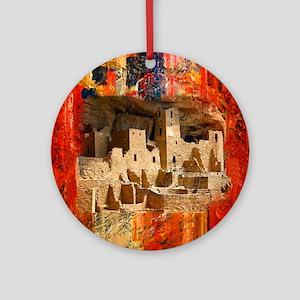 Adobe Cliffs Ornament (Round)