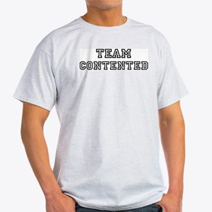 CONTENTED is my lucky charm Light T-Shirt