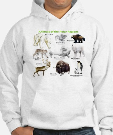 Animals of the Polar Regions Hoodie