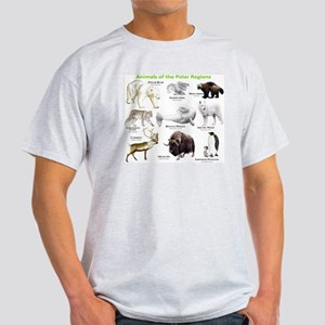 Animals of the Polar Regions Light T-Shirt