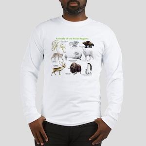 Animals of the Polar Regions Long Sleeve T-Shirt