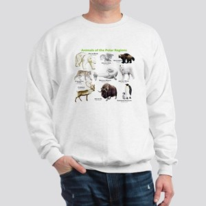 Animals of the Polar Regions Sweatshirt