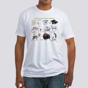 Animals of the Polar Regions Fitted T-Shirt