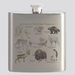 Animals of the Polar Regions Flask