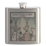 Sniff the Bride Flask