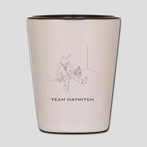 Hunger Games Team Haymitch Dark Shot Glass