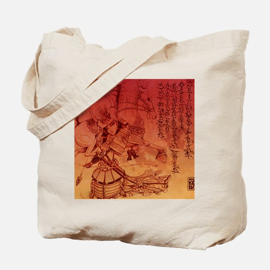 samurai chic king duvet Tote Bag