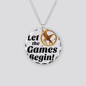 Let the Games Begin - Hunger Necklace Circle Charm