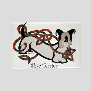SkyeTerrier-Color Rectangle Magnet
