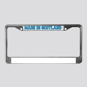 Made In Scotland Baby Hat License Plate Frame