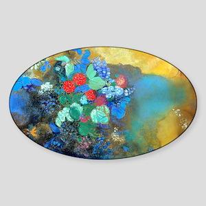 Bag Redon Ophelia Sticker (Oval)