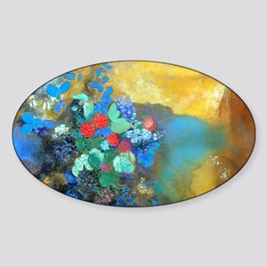 PC Redon Ophelia Sticker (Oval)