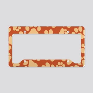 pawsminiwallet License Plate Holder