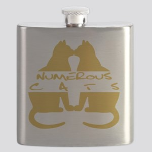 Numerous Cats Flask