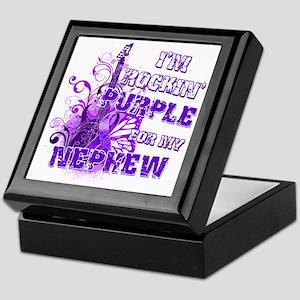 Im Rockin Purple for my Nephew Keepsake Box