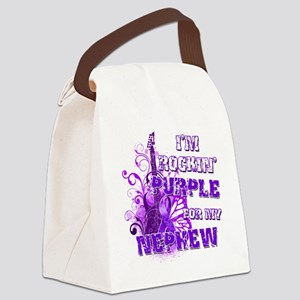 Im Rockin Purple for my Nephew Canvas Lunch Bag