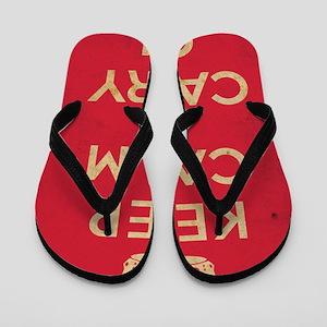 keepcalm21 Flip Flops