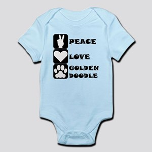 Peace Love Goldendoodle Body Suit