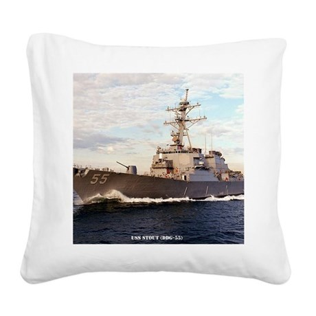 stout framed panel print Square Canvas Pillow