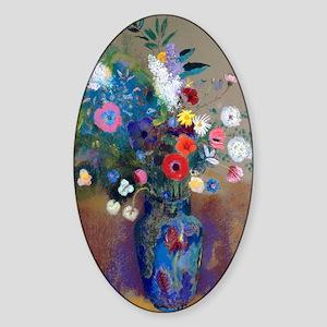 K/N Redon Bouquet Sticker (Oval)